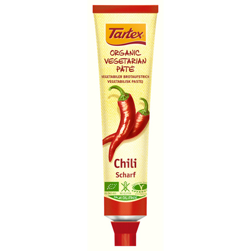 Tartex Paté m. chilli tube Ø (200 g)