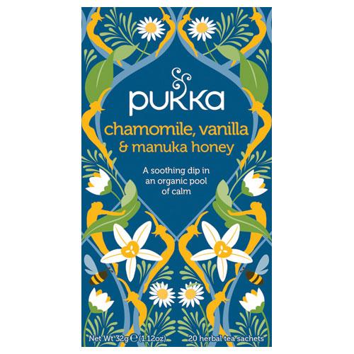 Billede af Chamomile, Vanilla & Manuka (20br)