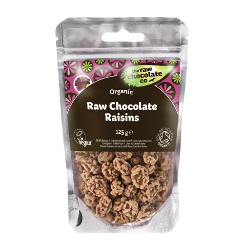 Billede af Rosiner m. rå chokolade Ø (125 g)