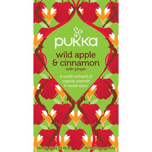 Billede af Wild apple te Ø Pukka (20br)