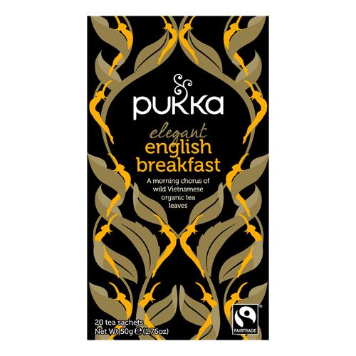 Image of   Elegant English Breakfast te Ø Pukka (20 br)