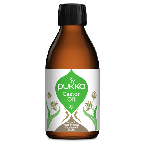 Image of   Amerikansk olie (Castor oil) Pukka (250 ml)