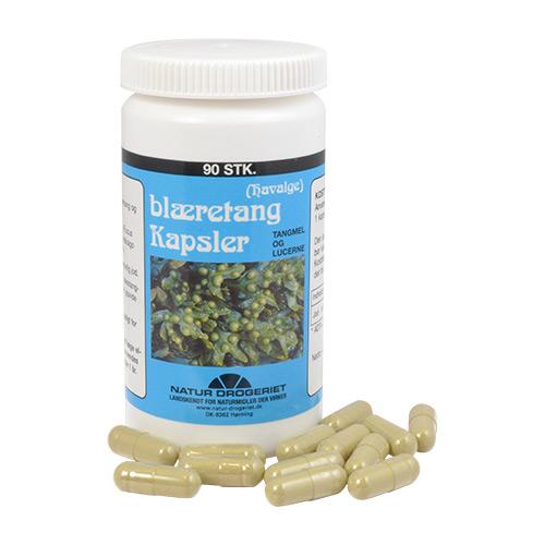 Image of   Blæretang (Havalge m. lucerne) 400 mg (90 kap)