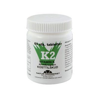 Billede af K2-vitamin45ug (60tab)