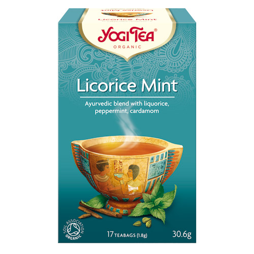 Image of   Yogi Tea Liquorice Mint Ø (17 br)