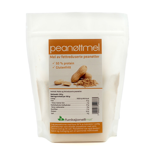 Image of   Funktionel Mad Peanutmel (250g)