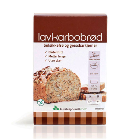 Image of   Funktionel Mad Lowcarb-brød (250g)