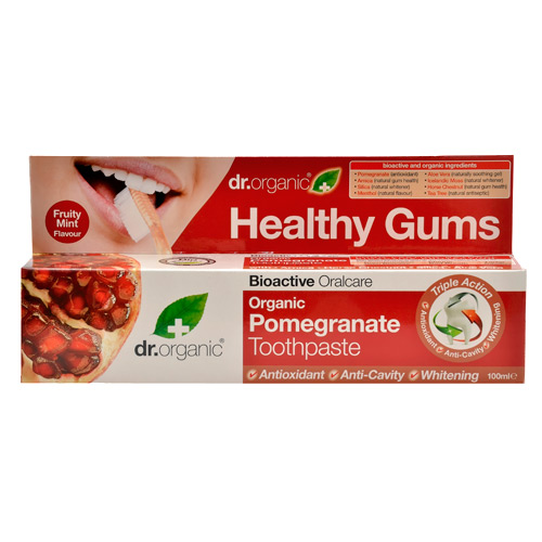Tandpasta Pomegranate Dr. Organic (100 ml)
