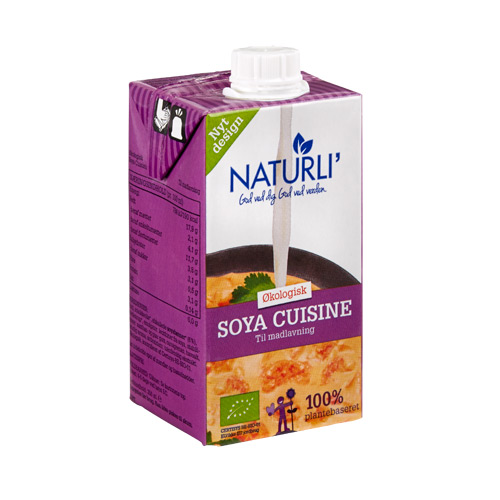 Image of   Soja Cuisine Naturli Ø (250 ml)
