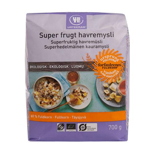 Image of   Urtekram Super Frugt Havremysli Økologisk (700g)