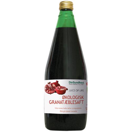 Image of   Granatæblesaft Ø u. tilsat sukker (700 ml)
