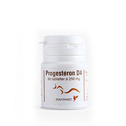 Image of   Progesteron D4 enkelt (90 tab)