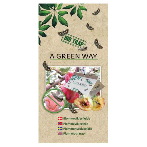 Image of   A Green Way Blommeviklerfælde (2 stk)