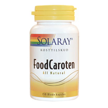 Image of   Food Caroten Betacaroten 3 mg (150 kap)