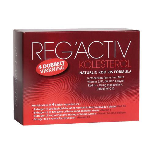 Natur energi RegActiv Kolesterol (60 kapsler)