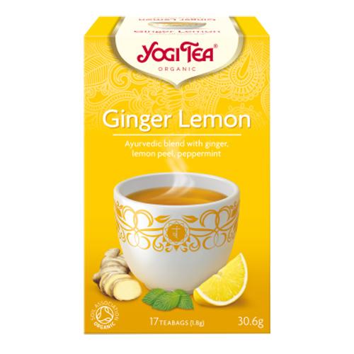 Image of   Yogi Tea Ginger Lemon Ø (17 br)