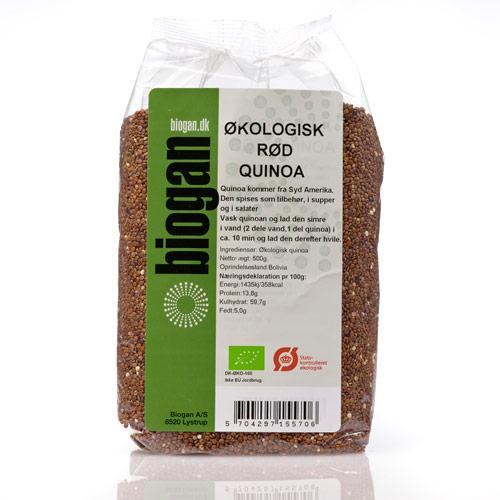 Image of   Quinoa rød Ø (500 g)