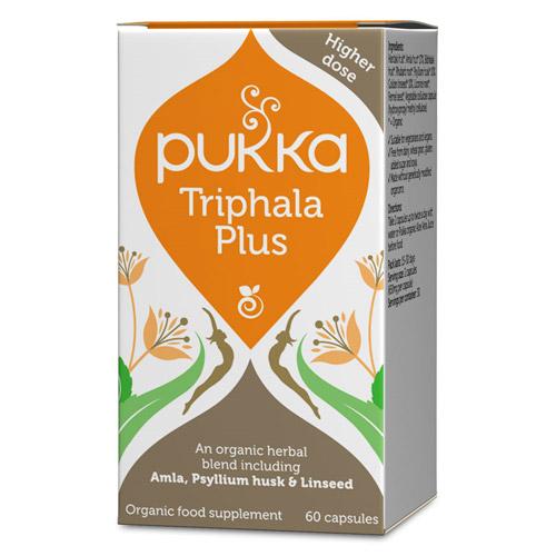 Triphala plus kapsler Ø Pukka (60 kap)