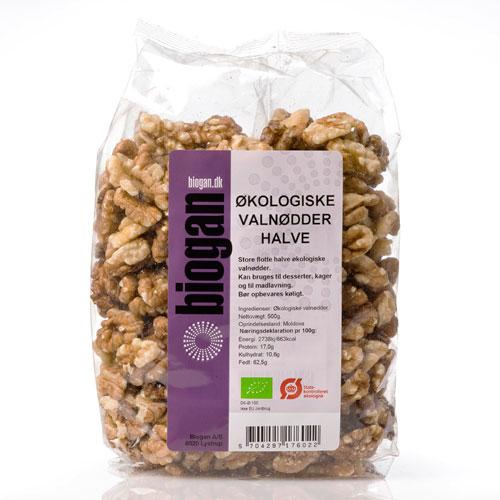 Image of   Biogan Valnødder (500g)