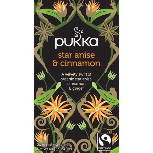 Image of   Star Anise & Cinnamon te Ø Pukka (20 br)