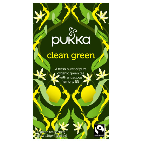 Billede af Clean Green te Ø Pukka (20br)