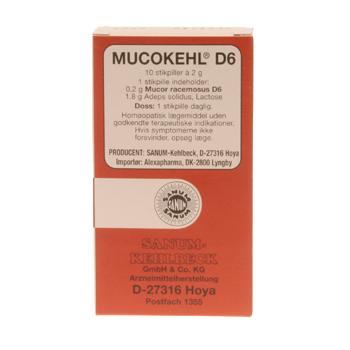 Image of   Mucokehl stikpiller (10 stk.)