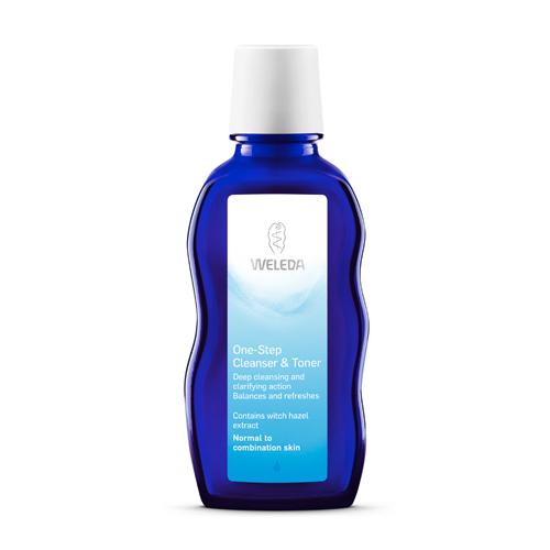 One-Step cleanser & toner Weleda (100 ml)