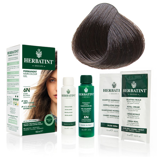Image of   Herbatint 4N hårfarve Chestnut (150 ml)