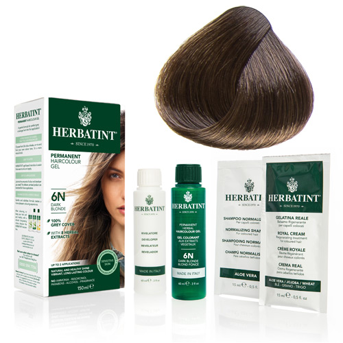 Image of   Herbatint 5N hårfarve Light Chestnut (150 ml)