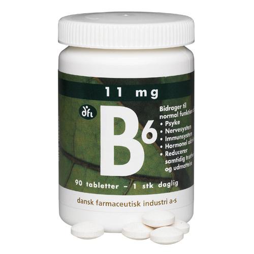 Image of   B6 11 mg (90 tab)