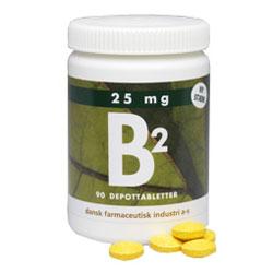 Image of   B2 25 mg (90 tab)