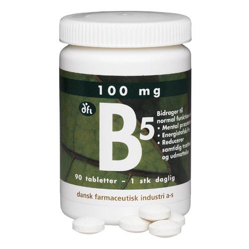 Image of   B5 100 mg (90 tab)