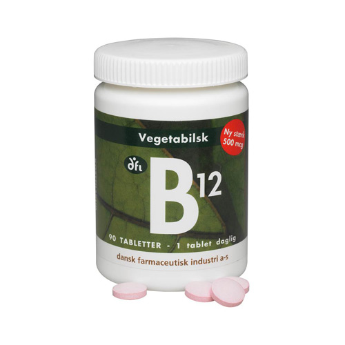 Image of   B12vitamin500mcg (90tab)