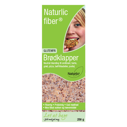 Image of   Naturlic Brødklapper Neutral Glutenfri Blanding (250g)