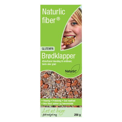 Billede af Naturlic Brødklapper æble/kanel Glutenfri Blanding (250g)
