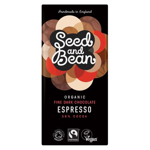 Naturesource Mørk Chokolade 58% Kaffe Espresso Ø (85 gr)