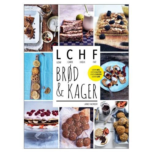 Image of   LCHF - Brød & kager (bog)