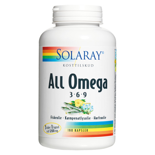 Image of   AllOmega3-6-9 (180kap)