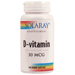Image of   D-vitamin30mcg (100kap)