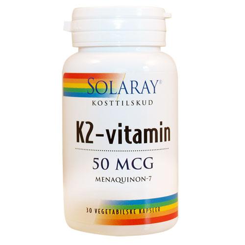 Billede af K2-vitamin50mcg (30kap)