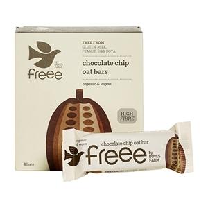 Billede af Chocolate Chip Flapjack Øko 4pak - 140 gram
