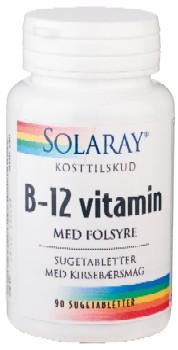 Image of   B12vitaminmedfolsyre (90tab)