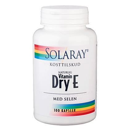 Image of   DryE-vitaminmedselen (100kap)