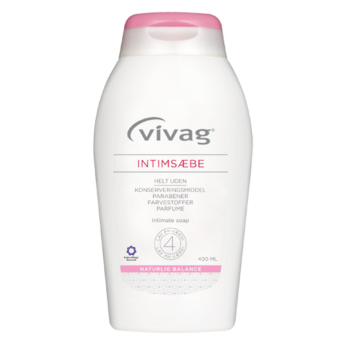 Vivag intimsæbe (400 ml)
