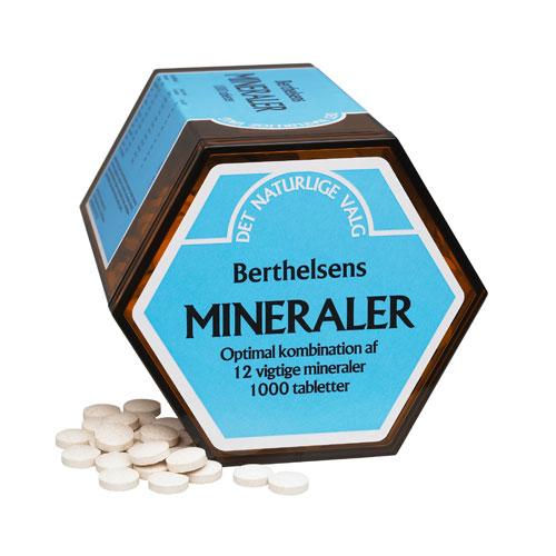 Image of   BerthelsenMineraler (1000tab)