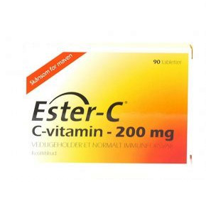 Image of   Ester C vitamin 200 mg (90 tab)