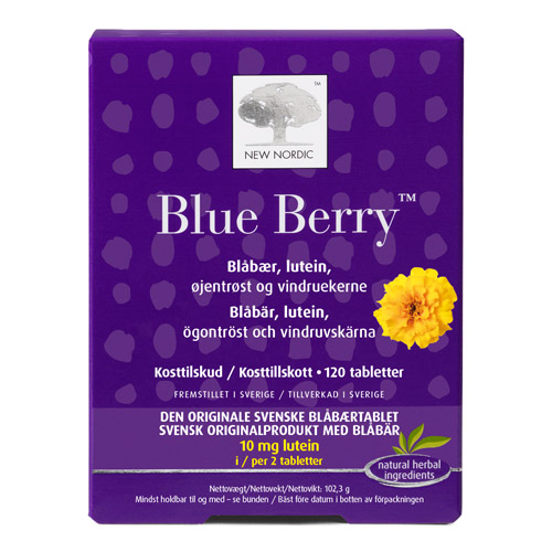 Image of   BlueBerryoriginal (120tab)