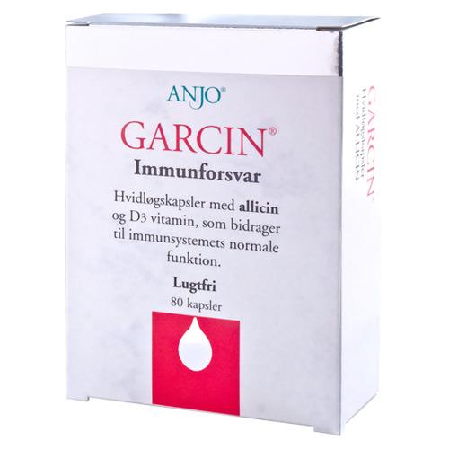 GarcinHvidløgm.D3vitamin (80kap)