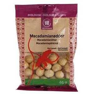 Macadamianødder m. havsalt Ø (65 g)