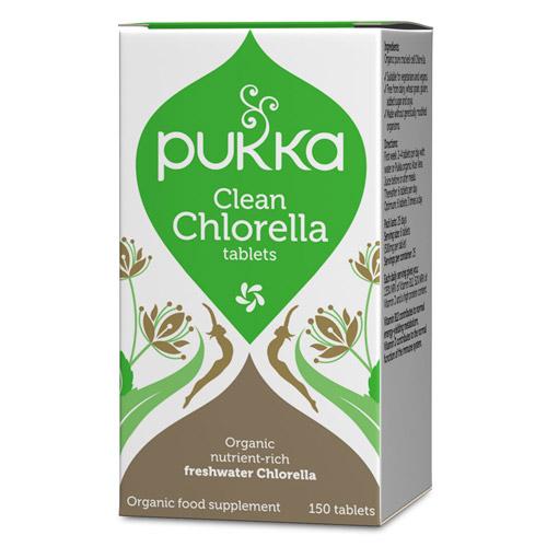 Image of   Chlorella 500 mg Ø Pukka (150 tab)